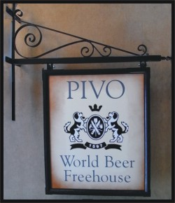 Pub sign & wall bracket